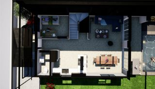 Semi-Detached Villas Surrounded by Green Areas in Belek, Property Plans-2