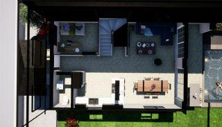 Halfvrijstaande villa's omgeven door groene gebieden in Belek, Vloer Plannen-2