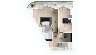 Excellent Flats with Mountain View in Bursa Osmangazi, Property Plans-10
