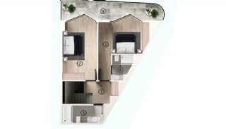 Excellent Flats with Mountain View in Bursa Osmangazi, Property Plans-12