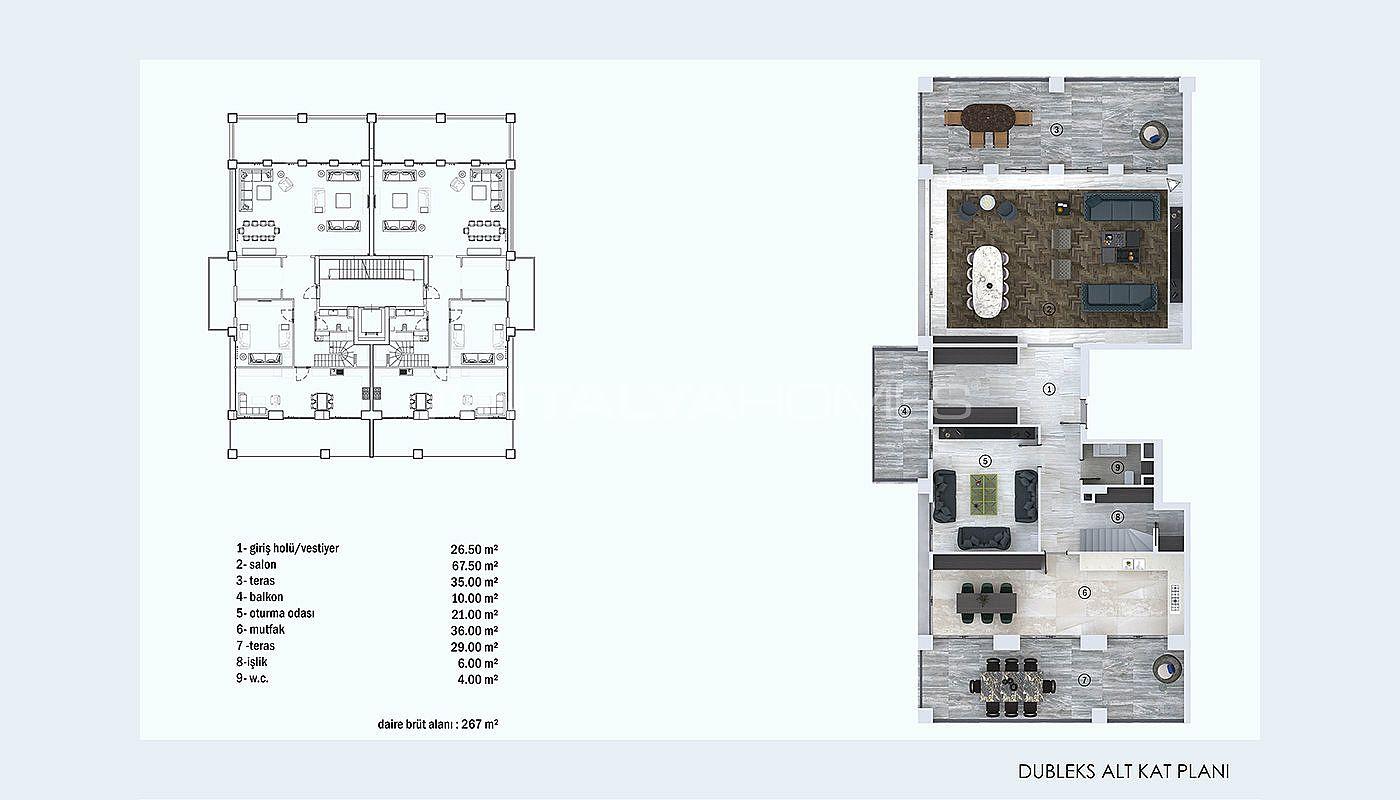 Newly Built Turnkey Apartments In Nilufer Bursa
