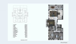 Smartly Designed Deluxe Apartments in Nilufer Bursa, Property Plans-1