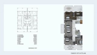 Smartly Designed Deluxe Apartments in Nilufer Bursa, Property Plans-5