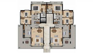 Centrally Located Impeccable Apartments in Bursa, Property Plans-1