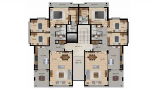 Centrally Located Impeccable Apartments in Bursa, Property Plans-2