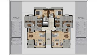 Centrally Located Impeccable Apartments in Bursa, Property Plans-3