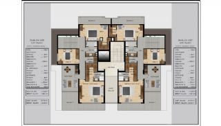 Centrally Located Impeccable Apartments in Bursa, Property Plans-4