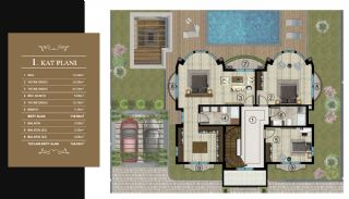 Luxury Unique Villas with Private Pool in Bursa, Property Plans-2