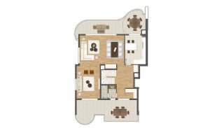 New Built Unique Apartments in Bursa by the Seaside, Property Plans-2