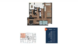 Modern Flats Short Distance to the Center of Bursa, Property Plans-2