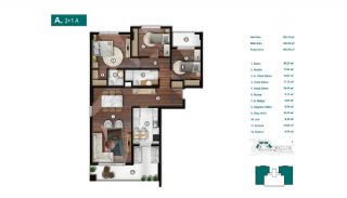 Smartly Designed Apartments Offering Happy Life in Bursa, Property Plans-1