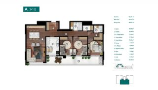 Smartly Designed Apartments Offering Happy Life in Bursa, Property Plans-2