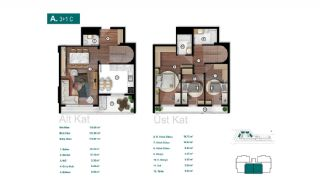 Smartly Designed Apartments Offering Happy Life in Bursa, Property Plans-3