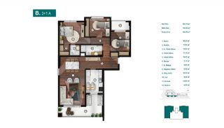 Smartly Designed Apartments Offering Happy Life in Bursa, Property Plans-4