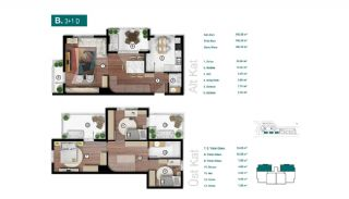 Smartly Designed Apartments Offering Happy Life in Bursa, Property Plans-6