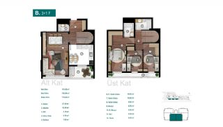 Smartly Designed Apartments Offering Happy Life in Bursa, Property Plans-8