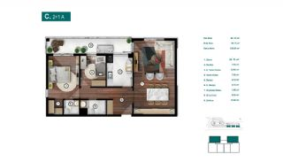 Smartly Designed Apartments Offering Happy Life in Bursa, Property Plans-9