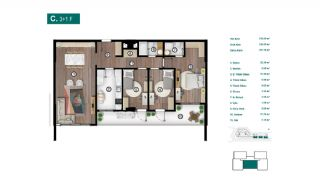 Smartly Designed Apartments Offering Happy Life in Bursa, Property Plans-11