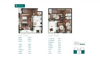 Smartly Designed Apartments Offering Happy Life in Bursa, Property Plans-13