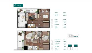 Smartly Designed Apartments Offering Happy Life in Bursa, Property Plans-14