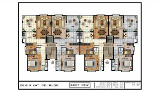 Sea View Real Estate in the Developing Area of Bursa, Property Plans-2