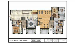 Sea View Real Estate in the Developing Area of Bursa, Property Plans-3