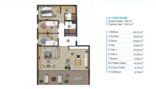 Panoramic Sea View Real Estate in Mudanya Bursa, Property Plans-3