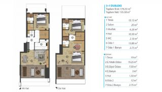 Panoramic Sea View Real Estate in Mudanya Bursa, Property Plans-4