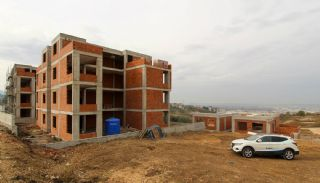 City and Forest View Deluxe Houses with Garden in Bursa, Construction Photos-10