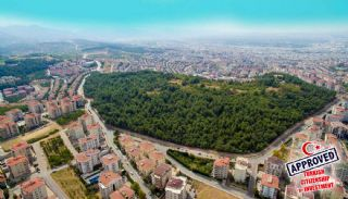 City and Forest View Deluxe Houses with Garden in Bursa, Bursa / Nilufer