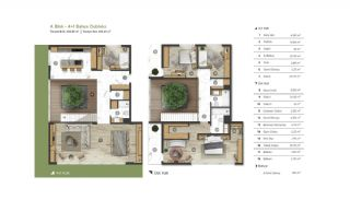 City and Forest View Deluxe Houses with Garden in Bursa, Property Plans-1