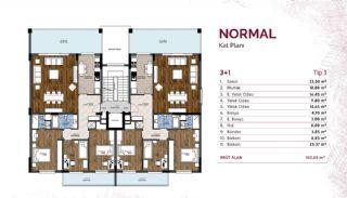Mudanya'nın En Büyük Projesinde Merkezi Konumlu Daireler, Kat Planları-1