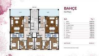Mudanya'nın En Büyük Projesinde Merkezi Konumlu Daireler, Kat Planları-2