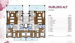 Central Real Estate in Prestigious Project in Bursa Mudanya, Property Plans-3