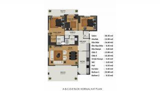 Vom Wald Umgebene Wohnungen in Bursa, Mudanya, Immobilienplaene-1