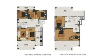 Apartments Surrounded by Forest in Bursa, Mudanya, Property Plans-2