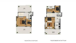 Apartments Surrounded by Forest in Bursa, Mudanya, Property Plans-4