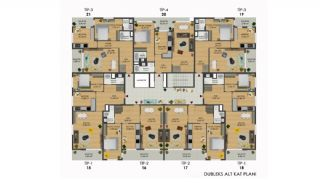 Bursa Apartments Close to All Daily Amenities in Mudanya, Property Plans-1