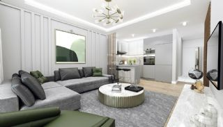 Road-Front Comfortable Apartments in Bursa Nilufer, Interior Photos-7