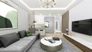 Road-Front Comfortable Apartments in Bursa Nilufer, Interior Photos-9