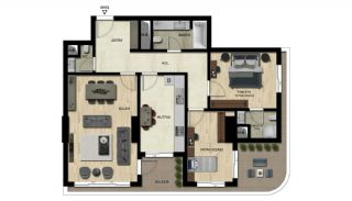 Luxury Real Estate with Various Social Amenities in Bursa, Property Plans-2