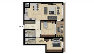 Luxury Real Estate with Various Social Amenities in Bursa, Property Plans-3