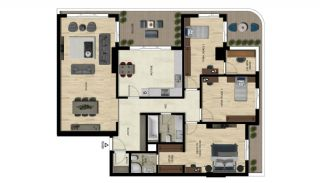 Luxury Real Estate with Various Social Amenities in Bursa, Property Plans-4