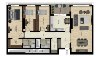 Luxury Real Estate with Various Social Amenities in Bursa, Property Plans-6