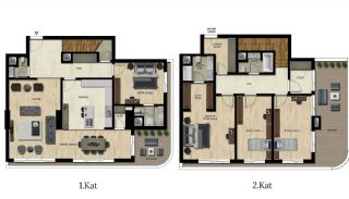 Luxury Real Estate with Various Social Amenities in Bursa, Property Plans-8
