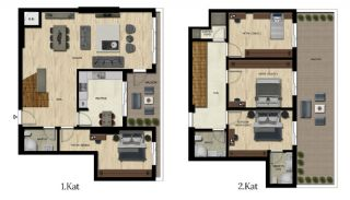 Luxury Real Estate with Various Social Amenities in Bursa, Property Plans-9