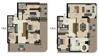 Luxury Real Estate with Various Social Amenities in Bursa, Property Plans-11