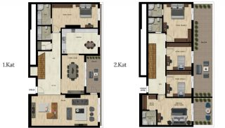 Luxury Real Estate with Various Social Amenities in Bursa, Property Plans-12