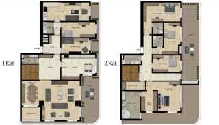 Luxury Real Estate with Various Social Amenities in Bursa, Property Plans-13