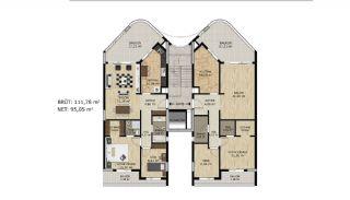 Comfortable Spacious Apartments in Bursa Mudanya, Property Plans-1